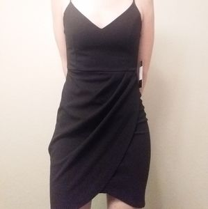 Lulu's Forever Your Girl Black Bodycon NWT